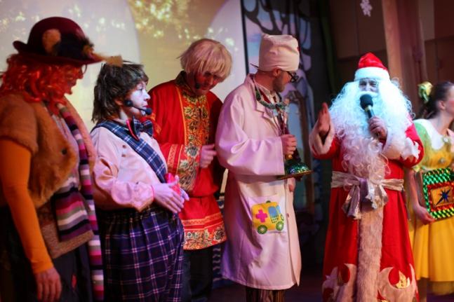 Новогоднее волшебство для маленьких жителей Большой Охты