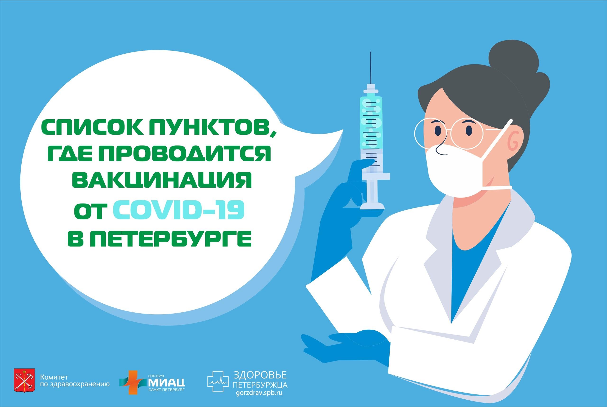 Пункты вакцинации