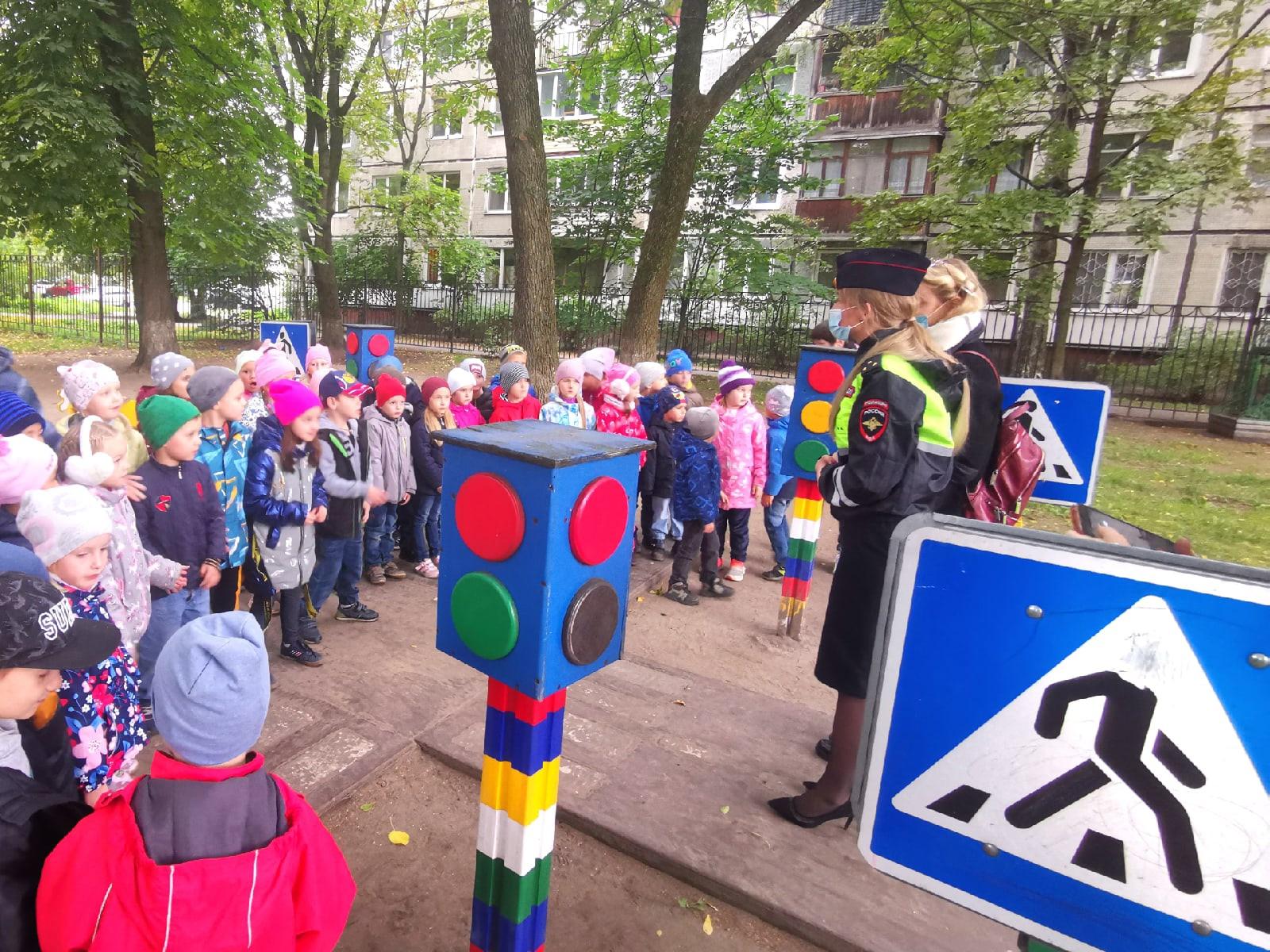 Акция «Юный велосипедист» в Детском саду № 33